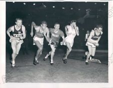 Bankers Mile Track Meet Purdue Iowa Drake Fort Lee and Wisconsin Press Photo
