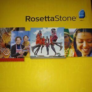 Rosetta Stone Italian Complete Level 1-3Version 3 Set Language CDs Francais 1-5