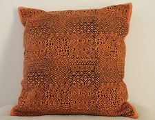 Unique Khaadi Blockprinted Handwoven Fabric Cushion