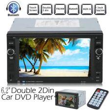 "6.2"" HD 2 DIN In Dash Car Stereo MP5 MP4 NO CD DVD Player Bluetooth  Auto Radio"