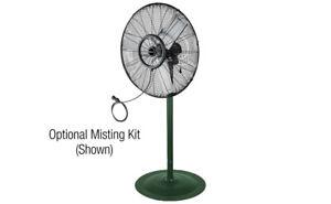"KING PFO-30 30"" Outdoor Rated Oscillating Air Circulator With Pedestal Base"