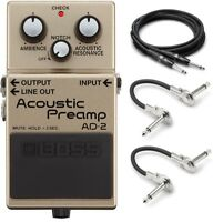 New Boss AD-2 Acoustic Preamp Guitar Effects Pedal!