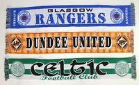 Dundee United Scarf Celtic Glasgow Rangers Scotland Vintage Football Scarves