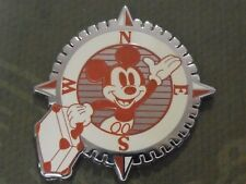 2014 Disney Booster Pin Patches WDW Mickey Mouse Compass and Suitcase