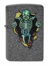 Lighter Zippo Skull Wall