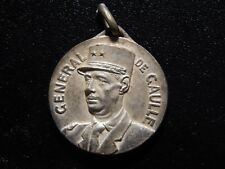 FRANCE GENERAL DEGAULLE HIGH RELIEF MEDAL!   WW365NXX
