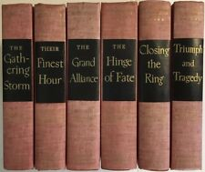 The Second World War, Winston Churchill – 6 Volume Set, 1948 - 1953