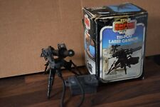 STAR WARS ROTJ Vintage Tri-Pod Laser Cannon 1983 Kennerexcellent boxed