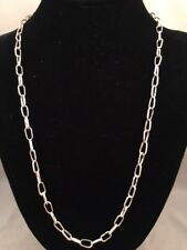 Handmade Sterling Silver Chain 20.1 grams 22""