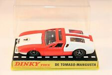 Dinky Toys 187 De Tomaso - Mangusta very near mint in box