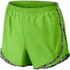 NWT Nike Dri-FIT Tempo Women's Running Shorts 624278-315 Action Green/Blk $30 XS
