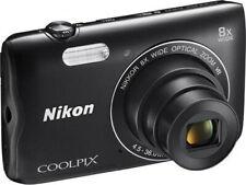 Nikon Digital Camera COOLPIX A300 Optical 8× Wide Zoom 20.1 Mega Pixels BLACK -