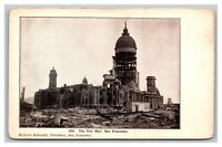 San Francisco, CA California 210. The City Hall Undivided Back Postcard Unposted