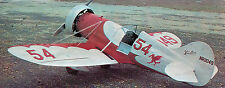Giant 1/4 Scale Gee Bee Y Senior Sportster Plans, Templates, Instructions