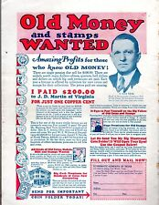 B. Max Mehl Ad! May 1933 Bedsheet-size Mag 25c AMAZING STORIES! ORIGINAL UNREAD!