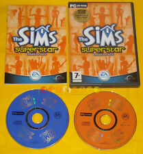 THE SIMS SUPERSTAR EXPANSION PACK Pc Versione Ufficiale Italiana »»»»» COMPLETO