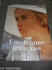 UNE FEMME FRANCAISE - ORIGINAL HUGE FRENCH POSTER - EMMANUELLE BEART