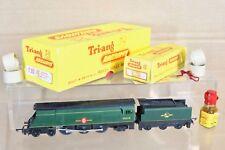 TRIANG T93 T94 TT GAUGE BR 4-6-2 MERCHANT NAVY CLASS LOCO 35028 CLAN LINE BOXED