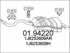 SILENCIEUX ARRIèRE POUR VW NEW BEETLE 2.0,AUDI A3 1.8,SEAT LEON 1.8 20V