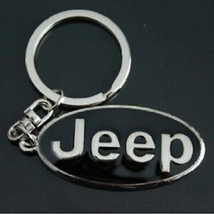 JEEP Keyring NEW UK Seller Boxed or UnBoxed Key Ring Chain Silver Black