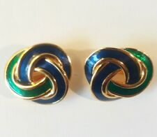 Vintage Signed M&S  Clip On Earrings