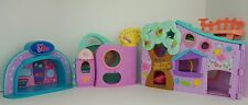 LPS Lot Get Better Center - Pink Club Tree Playhouse & Light Up Stage Play Set