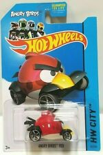 2014 Hot Wheels City Angry Birds Red 82