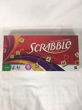 Scrabble Crossword Game w/ Wooden Tiles  NEW/FACTORY SEALED 2007 Hasbro