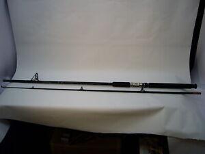 Silstar 9' 2 piece Fishing Rod Ultra Balance Med Action CC6-90BWS Surf Black
