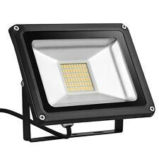 30w Warm White LED SMD Flood Light Ip65 Spot Lights Outdoor Garden Lamp DC 12v