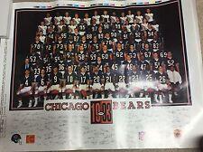 VINTAGE 1993 Chicago Bears Team Poster  KODAK