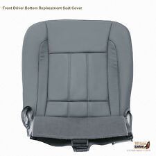 2007 Dodge Ram 1500 2500 3500 4500 Laramie-Driver Bottom Leather Seat Cover Gray