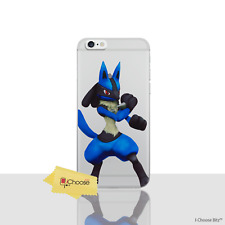"Pokemon Case/Cover Apple iPhone 7 (4.7"") / Screen Protector / Silicone / Lucario"