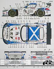 1/24 BMW Z4 ECOSSE #79 ELMS 2013 DECAL for FUJIMI McCAIG TWYMAN MILLROY