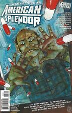 HARVEY PEKAR AMERICAN SPLENDOR #3 JAN 2007 VERTIGO WITH SIGNED CRUMB ART CARD