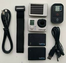 Gopro Hero 3 Silver Edition  Camera with accessories