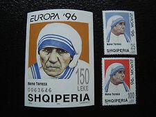 ALBANIA - francobollo yvert e tellier n° 2537 2538 bloc 83 n (A17) stamp
