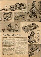1961 ADVERTISEMENT Toy Robot Mr Machine Jet Plane Pan American Submarine Atomic