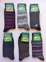 6 Pairs Women Luxury High Quality Chunky Thick Thermal Fresh  Wool Socks QWSF