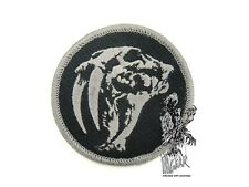 Tad Gear Triple Aught Design Saber tooth BLACK Morale Patch HOOK & LOOP velcro