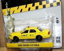 Ford Crown Victoria New York City Taxi (NYC) Greenlight Exclusive 1/64