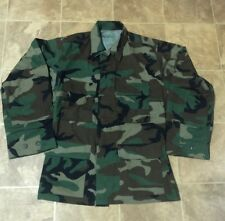 USA Military Coat Woodland Camouflage Combat Mens Medium Regular Army Jacket