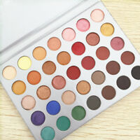 AU!! MORPHE 35 Colours Eye Shadow Palette Matte Glitter Shimmer Cosmetic Makeup