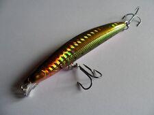 Leurre pêche mer riviere Minnow alevin 9cm 9,5g nage 0m à 1,5m