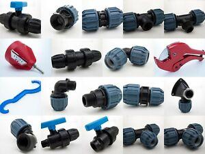 PE Fitting | PE Klemmfitting | PE HD Rohr | Verschraubung | Trinkwasser | PP