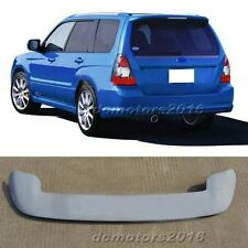 Primer Unpainted Plastic ABS Spoiler/Wing 1pcs For Subaru Forester 2004-2008
