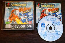 Jeu DIGIMON RUMBLE ARENA Complet sur Playstation 1 PS1 (one) PAL
