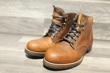 Wolverine 1000 Mile Boot Men's Cognac Leather Sz 9D[ia-114]