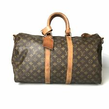 Louis Vuitton Monogram Keepall 45 M41428 Boston bag padlock with Used 723-9Z
