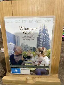 Whatever Works Larry David  Woody Allen Region 4 DVD